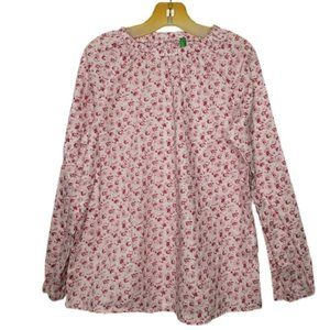 💥5/$25 UNITED COLORS OF BENETTON floral blouse